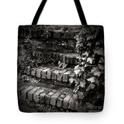 Secret Garden Stairs Tote Bag