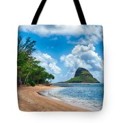 Secret Island Beach And Chinaman's Hat Tote Bag