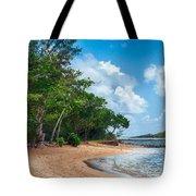 Secret Island Beach Tote Bag