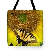 Secret Lives Of Sunflowers Tote Bag