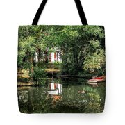 Secret Retreat - River Reflections Tote Bag