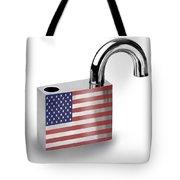Security Tote Bag