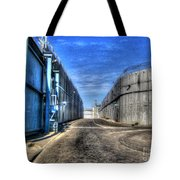Security Wall Tote Bag