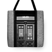 Sedgwick Street Old Town Chicago Tote Bag by Christine Till