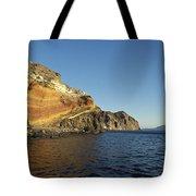 Sedimentary Layers San Esteban Island Tote Bag