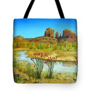 Sedona Arizona Tote Bag by Jerome Stumphauzer