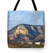 Sedona Arizona Panoramic Tote Bag by Mike McGlothlen
