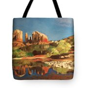 Sedona Cathedral Rock Tote Bag