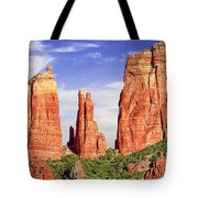 Sedona Red Rock Cathedral Rock State Park Tote Bag