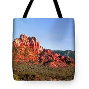 Sedona Rocky Cathedral Tote Bag