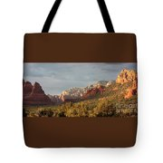 Sedona Sunshine Panorama Tote Bag