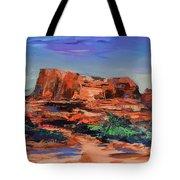 Sedona's Heart Tote Bag by Elise Palmigiani
