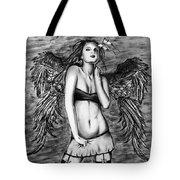 Seductive Angel  Tote Bag