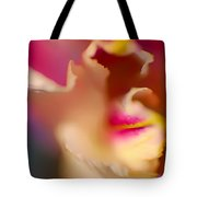 Seductive In Pink And White Tote Bag