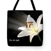 See The Light Tote Bag by Gill Billington