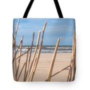 See Through On The Dutch Beach Tote Bag