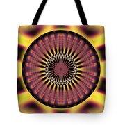 Seed Of Life Kaleidoscope Tote Bag