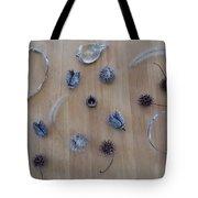 Seedpods Tote Bag