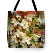 Seeing Double - Hydrangeas Tote Bag