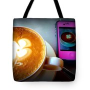 Seeing Double Latte Tote Bag