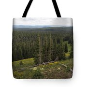 Seeing Forever - Yellowstone Tote Bag