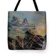 Seeing The Face Of God Tote Bag