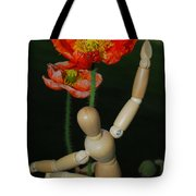 Seeking A Yellow Brick Road Number One Poppy  Tote Bag