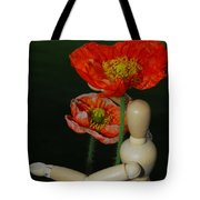 Seeking A Yellow Brick Road Poppy Number Two Tote Bag