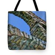 Segovia Aqueduct Arch By Diana Sainz Tote Bag
