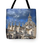 Segovia Gothic Cathedral Tote Bag by Ivy Ho