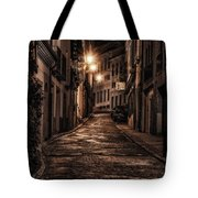 Segovia Predawn Tote Bag by Joan Carroll