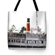 Segwun Steamboat - Painterly Tote Bag