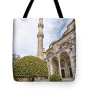 Sehzade Mosque 09 Tote Bag