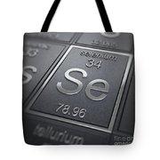 Selenium Chemical Element Tote Bag