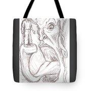 Self-consuming Tote Bag