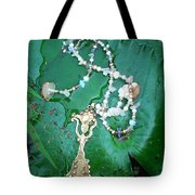 Self-esteem Necklace With Offerings Goddess Pendant Tote Bag