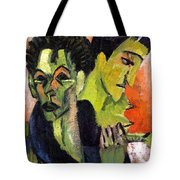 Self-portrait - Double Portrait Tote Bag