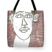 Self-portrait As A Young Man Tote Bag