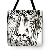 Self-portrait As An Old Man Tote Bag