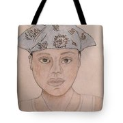 Self Portrait - Cat Tote Bag