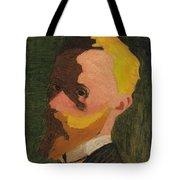 Self Portrait Tote Bag by Edouard Vuillard