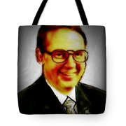 Self Portrait Of Bruce Nutting Tote Bag
