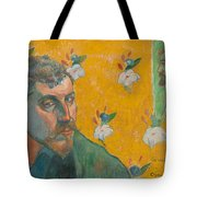 Self-portrait With Portrait Of Bernard. Les Miserables. Tote Bag