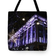 Selfridges London At Christmas Time Tote Bag