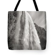 Seljalandsfoss Waterfall In Iceland Tote Bag