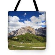 Sella Group. Italian Dolomites Tote Bag