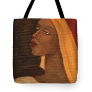 Semi-abstract- Woman Tote Bag