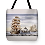 Semi-ah-moo Lighthouse Tote Bag