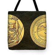 Seminole Nation Code Talkers Bronze Medal Art Tote Bag