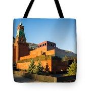 Senate Tower And Lenin's Mausoleum - Square Tote Bag